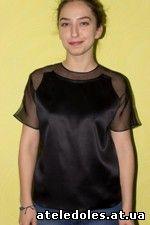 Блуза с натурального шёлка